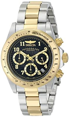 Invicta Men's 17027 Speedway Analog Display Japanese Quartz Two Tone Watch