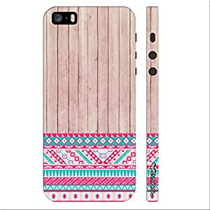Enthopia Designer Hardshell Case Woody 2 Aztec 13 Back Cover for Apple Iphone 5,5s,SE