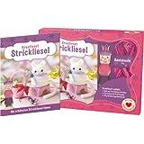 Kreativset Strickliesel - Die schönsten Strickliesel-Ideen: Set mit Anleitungsbuch, Strickliesel und Wolle für 1 Modell