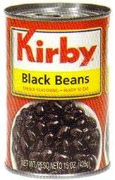 Goya Foods Kirby Black Beans, 15-Ounce (Pack of 24)