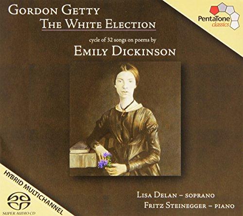 SACD : Lisa Delan - White Elections (Hybrid SACD)