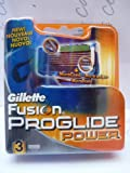 Gillette Fusion ProGlide Power Razor Blades 3-Pack