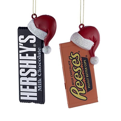 HERSHEY'STM CANDY BAR WITH SANTA HAT