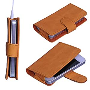 StylE ViSioN Pu Leather Pouch for Micromax Bolt A71