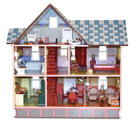 Victorian Doll House by Melissa &#038; Doug