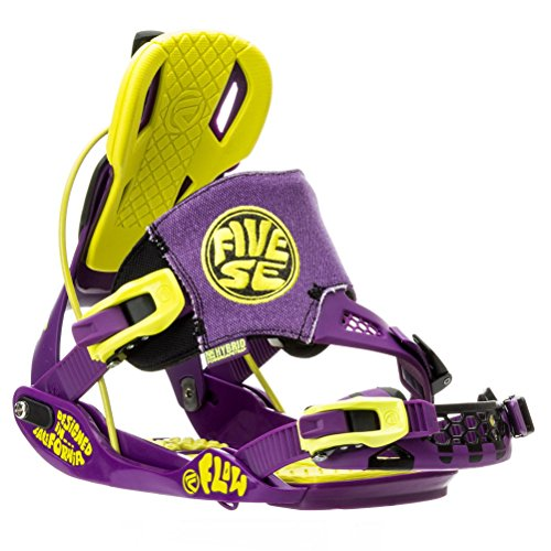 Flow The Five SE Snowboard Binding – Men's Toxic Medium