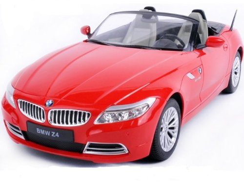 Bmwz4 1:12 Electronic Control Convertible Remote Control Car Model -Red Ships By Expedite