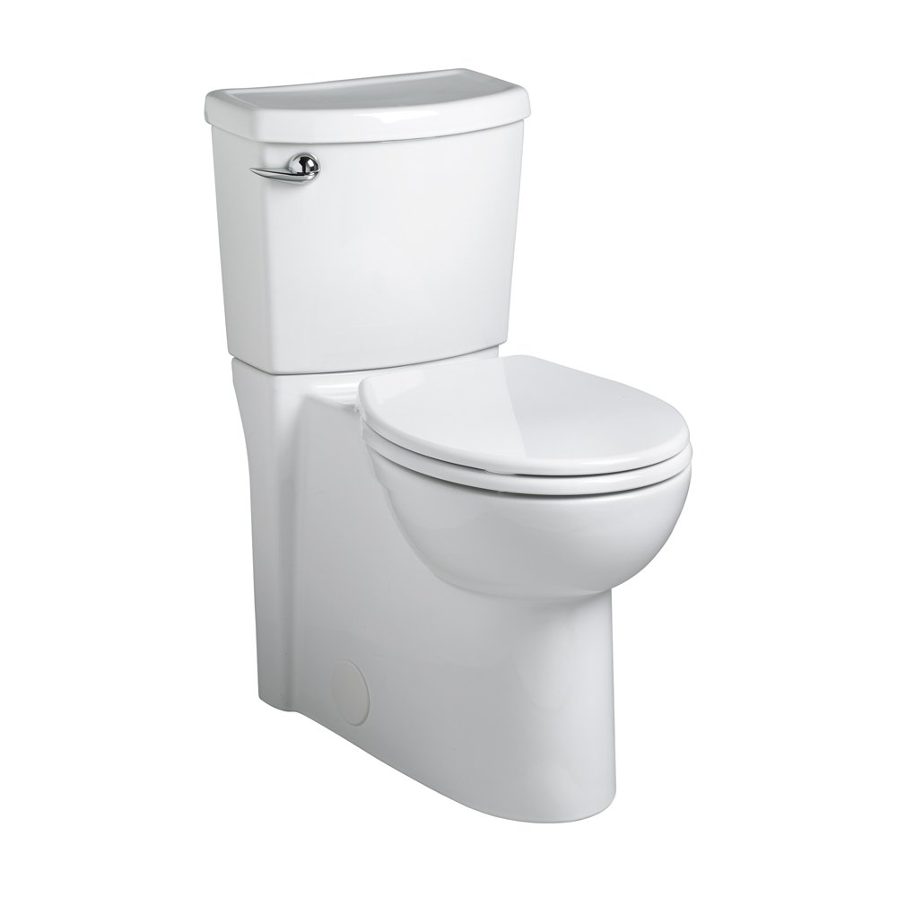 American Standard 2988.101.020 Concealed Trapway Cadet 3 Right Height Round Front Flowise 1.28 gpf Toilet with Seat
