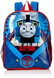 """Thomas the Train Boys' Icon 15"""" Backpack with Lunch Kit, Blue"""