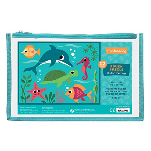 Mudpuppy Under the Sea Pouch Puzzle