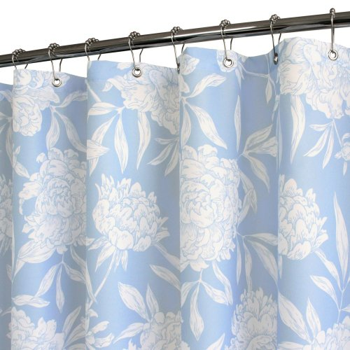 Details for Park B. Smith Peony Shower Curtain by Park B. Smith