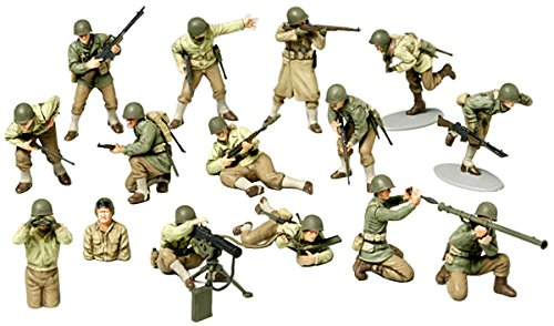 Tamiya 1:48 WWII US Army GI Set - 1