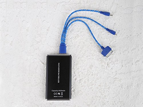 Salvador Bachiller - Câble 3-en-1 - Tecnologia CAB-3H - Bleu