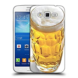 Snoogg Glass Filled With Beer Designer Protective Back Case Cover For Samsung Galaxy Grand 2