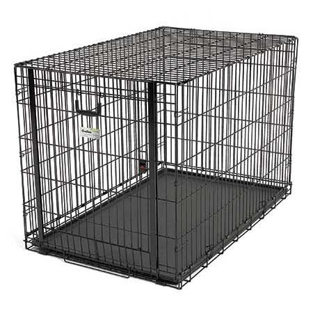 Ovation Single Door Dog Crate 31.25X19.25X21 back-243731