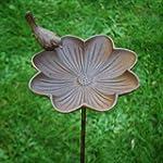 Cast Iron Garden Bird Feeder On A Sta...