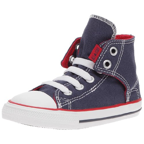 CONVERSE Unisex-Child Chuck Taylor All Star Easy Slip Slip Hi Trainers 064170-21-10 Marine 10 UK, 26 EU