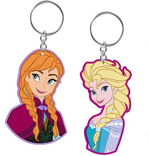 2 Schlüsselanhänger Set - Frozen / Die Eiskönigin - Anna & Elsa - Disney
