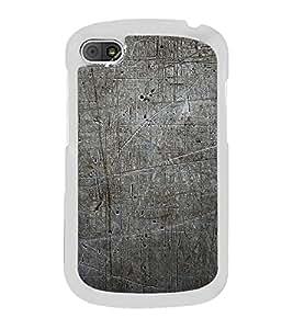 Grey Pattern 2D Hard Polycarbonate Designer Back Case Cover for BlackBerry Q10