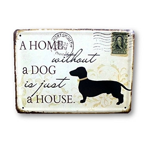 LightningStore Vintage Metal Drink Cute Dog Home Sign Board - Excellent for Decorating Your Home Cafe or Shop - Home Decor Suppliers (Sam Adams Beer Sign compare prices)