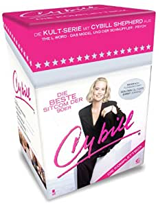 Cybill- Die Komplettbox mit 87 Folgen auf 15 DVDs (Cigarette Box mit Episodenguide, Autogrammkarte und Puzzle-Poster aus den Karton-Sleeves)