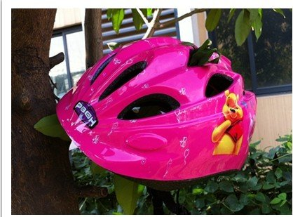 Young children biking / skating / skating helmet child safety protection helmet stroller pink helmet
