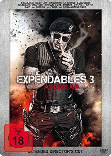 The Expendables 3 - A Man's Job (Extended Director's Cut, Limited Edition, Steelbook)