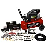 Speedway 6909 8-Gallon Air Compressor with 77 Piece Kit