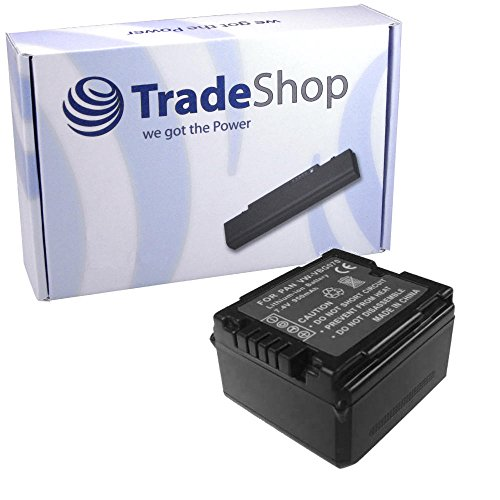Hochleistungs Kamera Li-Ion Akku für Panasonic VDR-D-230 VDR-D-250 VDR-D-300 VDR-D-310 VDR-D-400 NV-GS320 NV-GS330 NV-GS500 NV-GS60 NV-GS80 NV-GS90