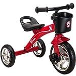 Kiddo Red 3 Wheeler Smart Design Kids...