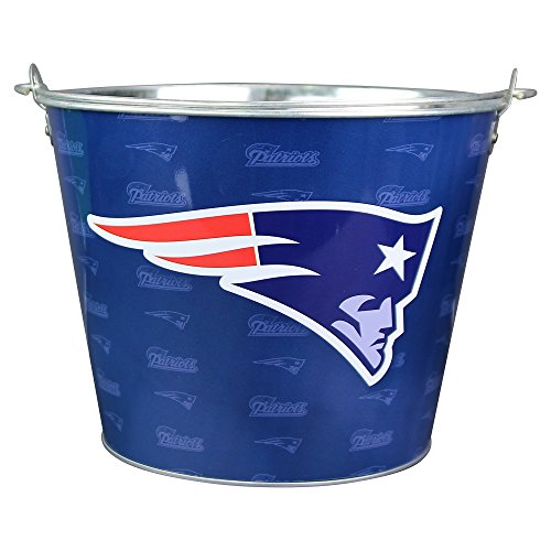 NFL Full Color Team Logo Aluminum Beer Bucket - New England Patriots (New England Beer compare prices)