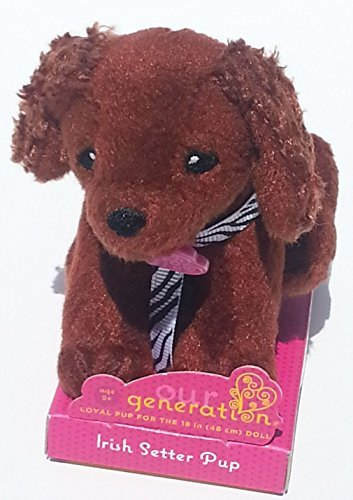 Our Generation Doll Small Dog Collection Plush ~ Irish Setter - 1