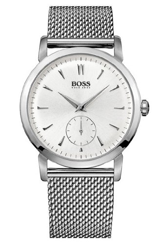 Hugo Boss 1512778 Watch HB1013 Mens - Silver Dial Stainless Steel Case Quartz Movement