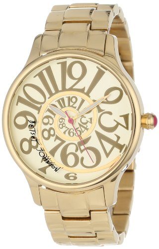 Betsey Johnson Women's BJ00040-02 Analog Optical Dial Watch