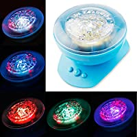 Ocean Waves Projector Lamp Projection 8Modes ,Ocean Lamp Music Projection by Mixed-Gadgets