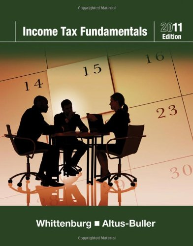 Income Tax Fundamentals 2011 (with H&R BLOCK At...