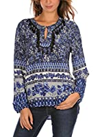 French Code Blusa Cathy (Azul)