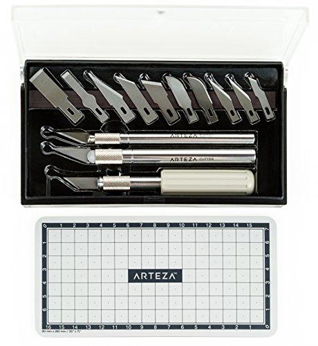 Hobby Knife Kit ( Set of 17)