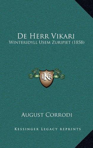 de Herr Vikari: Winteridyll Usem Zuripiet (1858)