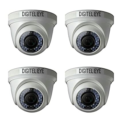 Digitel Eye DE-D130AH36 1.3MP AHD Dome Cameras (Pack Of 4)