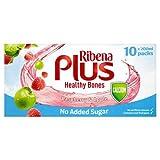 Ribena Plus Raspberry & Apple No Added Sugar + Calcium 10 x 200ml