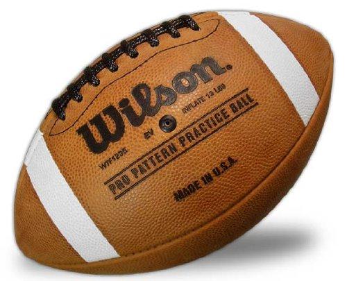 Wilson 1001P Pro Pattern Practice Football
