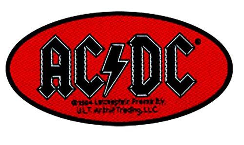 Patch - Ac/Dc Oval Logo