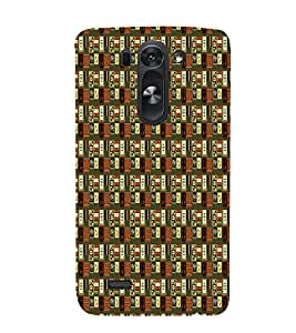 Abstract Painting 3D Hard Polycarbonate Designer Back Case Cover for LG G3 Beat :: LG G3 Vigor :: LG G3s :: LG g3s Dual