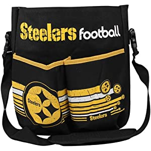 NFL Pittsburgh Steelers Newest Fan Diaper Bag - Black by Football Fanatics