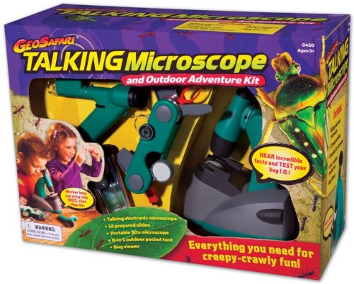 Educational Insights Geosafari Talking Microscope Adventure Kit