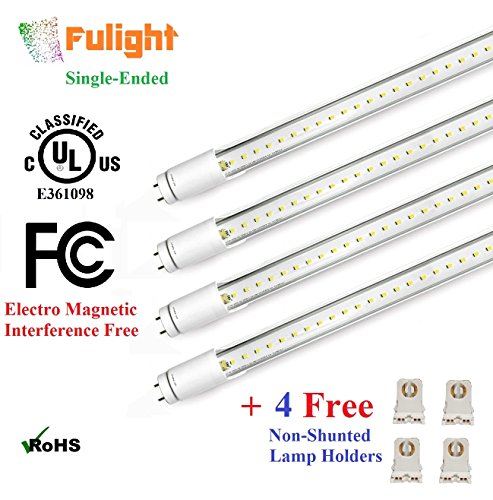 (4 PACK) UL Listed- T8 LED Tube Light - 4FT 48