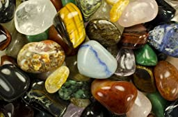 Hypnotic Gems Materials: 3 lbs Superior Tumbled Brazilian Stone Mix (BEST QUALITY) - 25 Stone Types in Every Bag - Polished Natural Gemstone Supplies for Wicca, Reiki, and Energy Crystal Healing