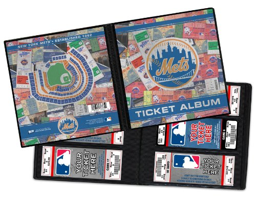 New York Mets Ticket Album, Holds 96 Tickets (Ny Mets Tickets compare prices)