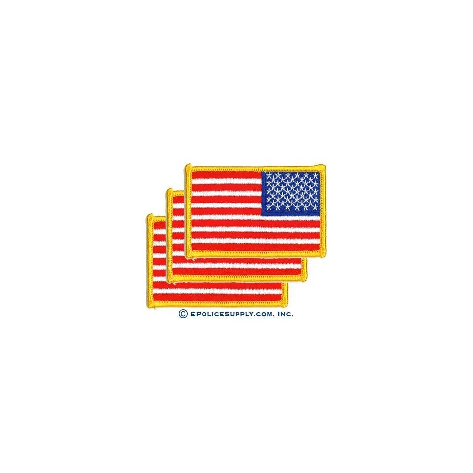 Us Reverse Flag Patch